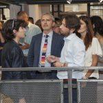 Il CEO YoRoom, Luca Diodà con l'assessore Tajani e il senatore Del Barba