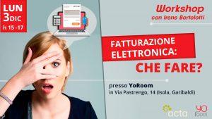 Fatturazione Elettronica: Che fare?