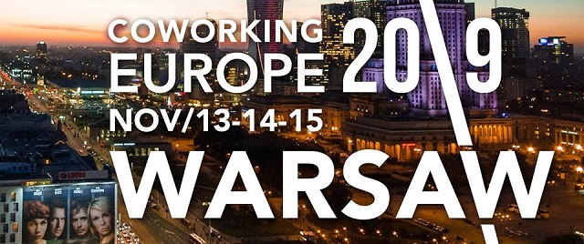 Coworking Europe Conference 2019 - Warsaw