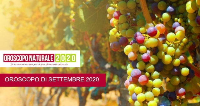 Oroscopo Naturale Settembre 2020