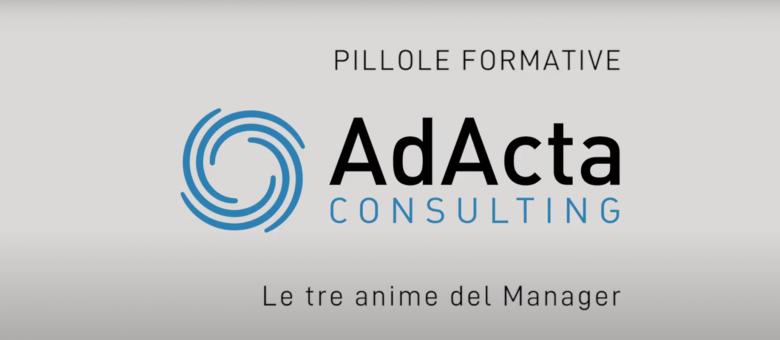 Adacta Consulting_ Le tre anime del manager